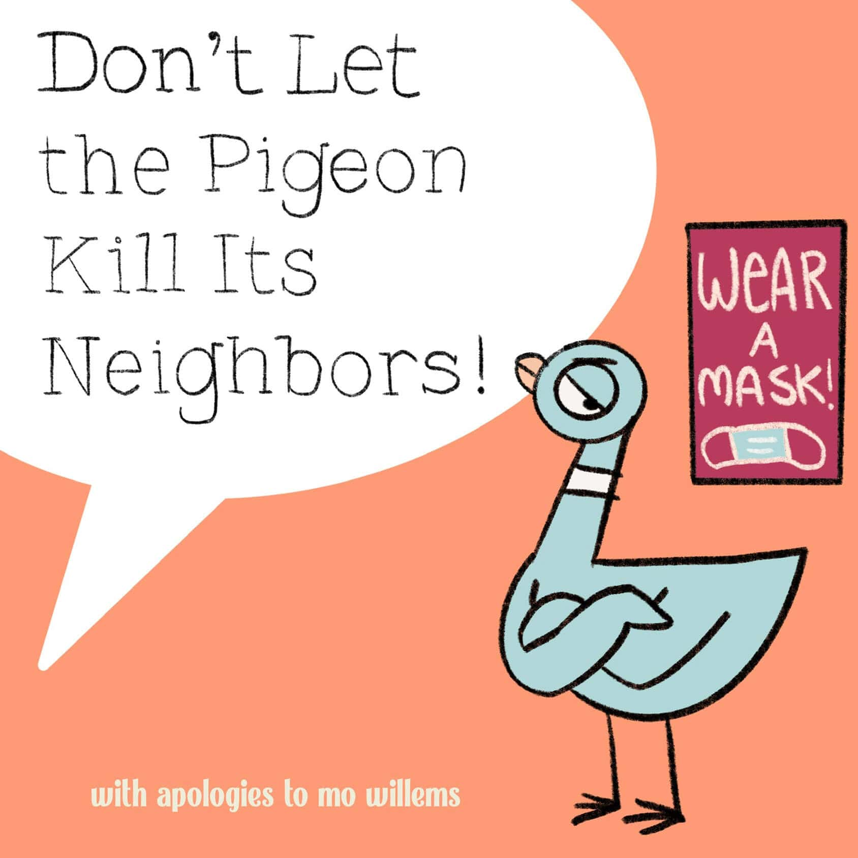 Don't Let the Pigeon Kill Its Neighbors, Abbie McCracken